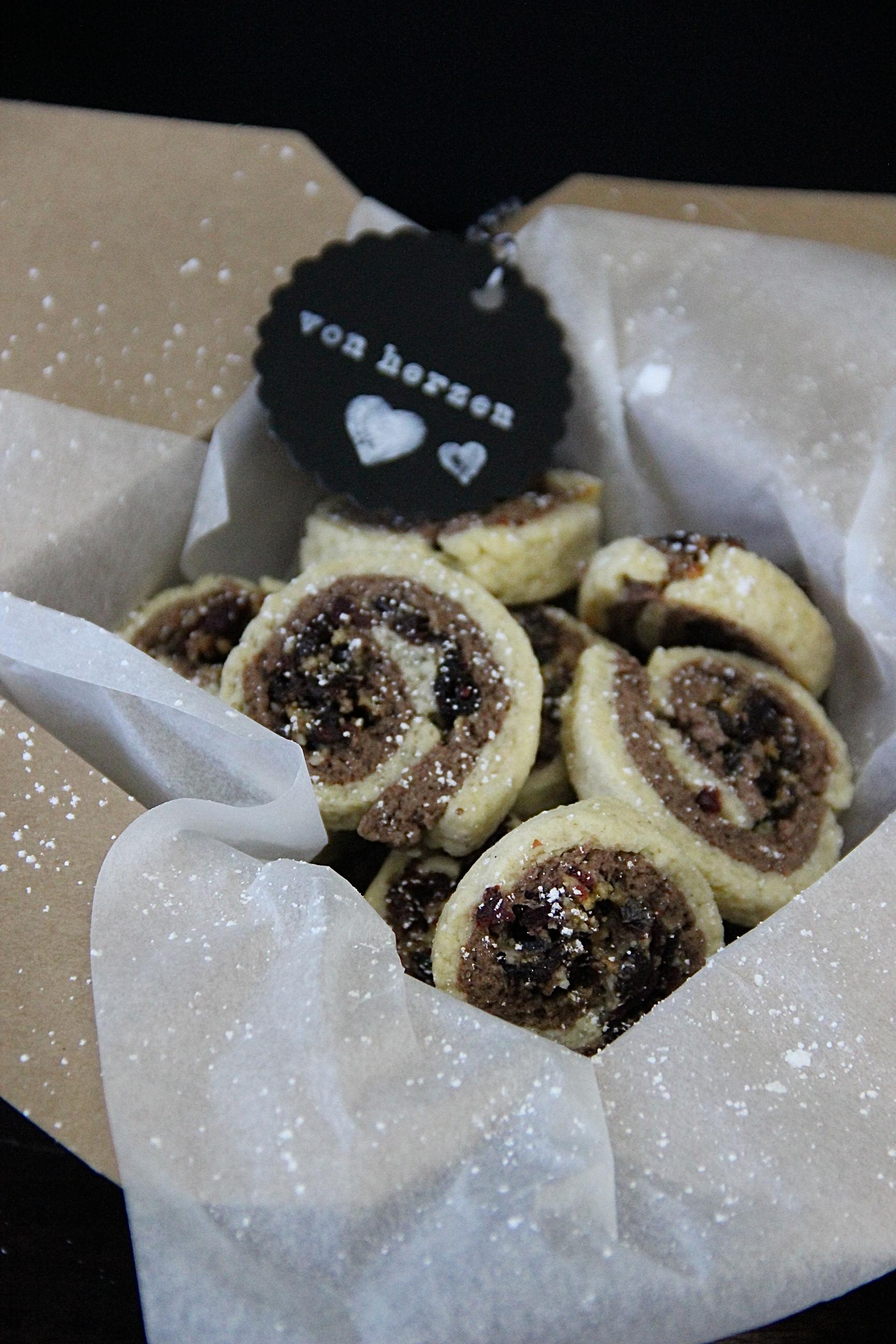 Cranberry Schokotaler Rezept Plätzchen Backen Advent Weihnachten