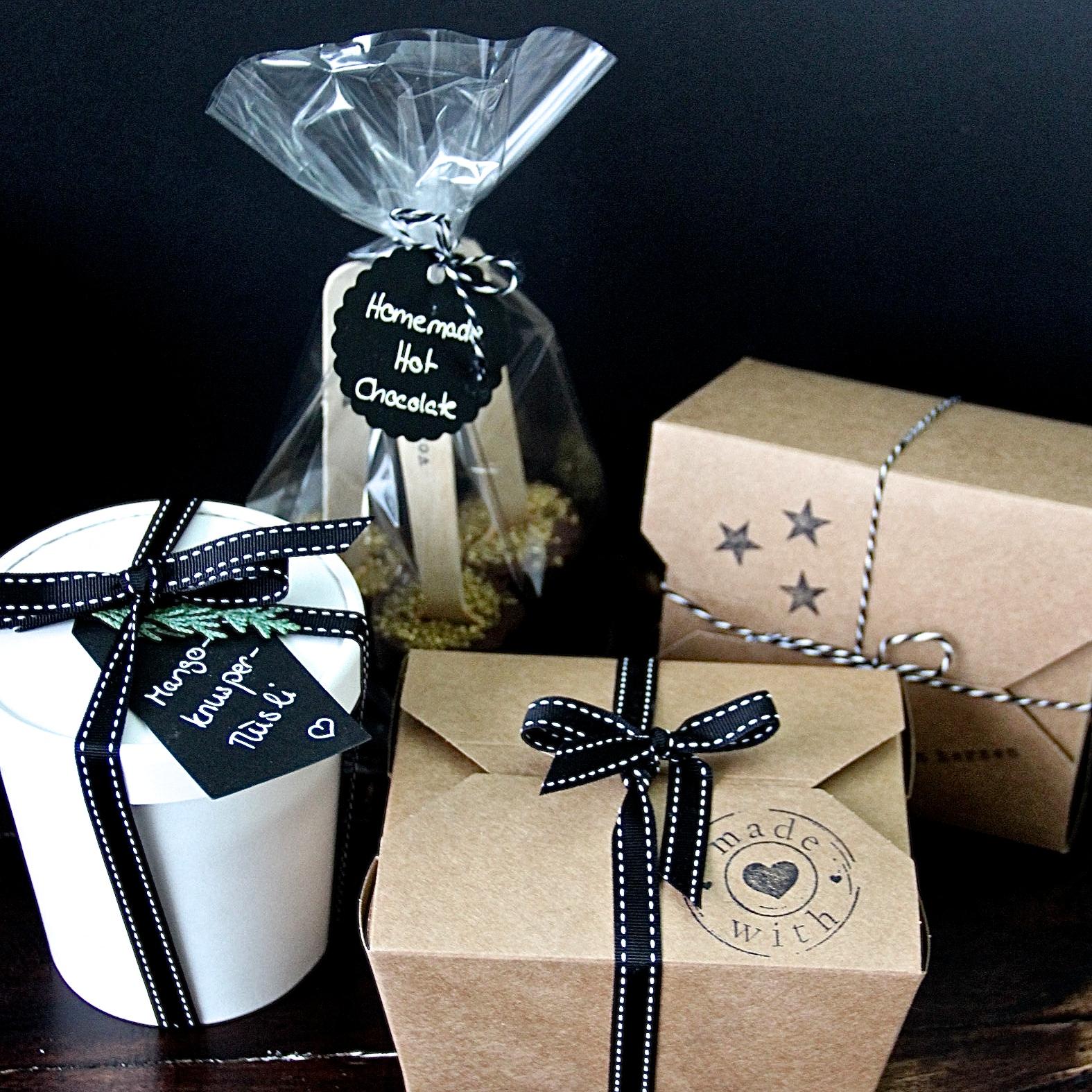 Geschenke aus der Küche DIY Weihnachten Verpackung