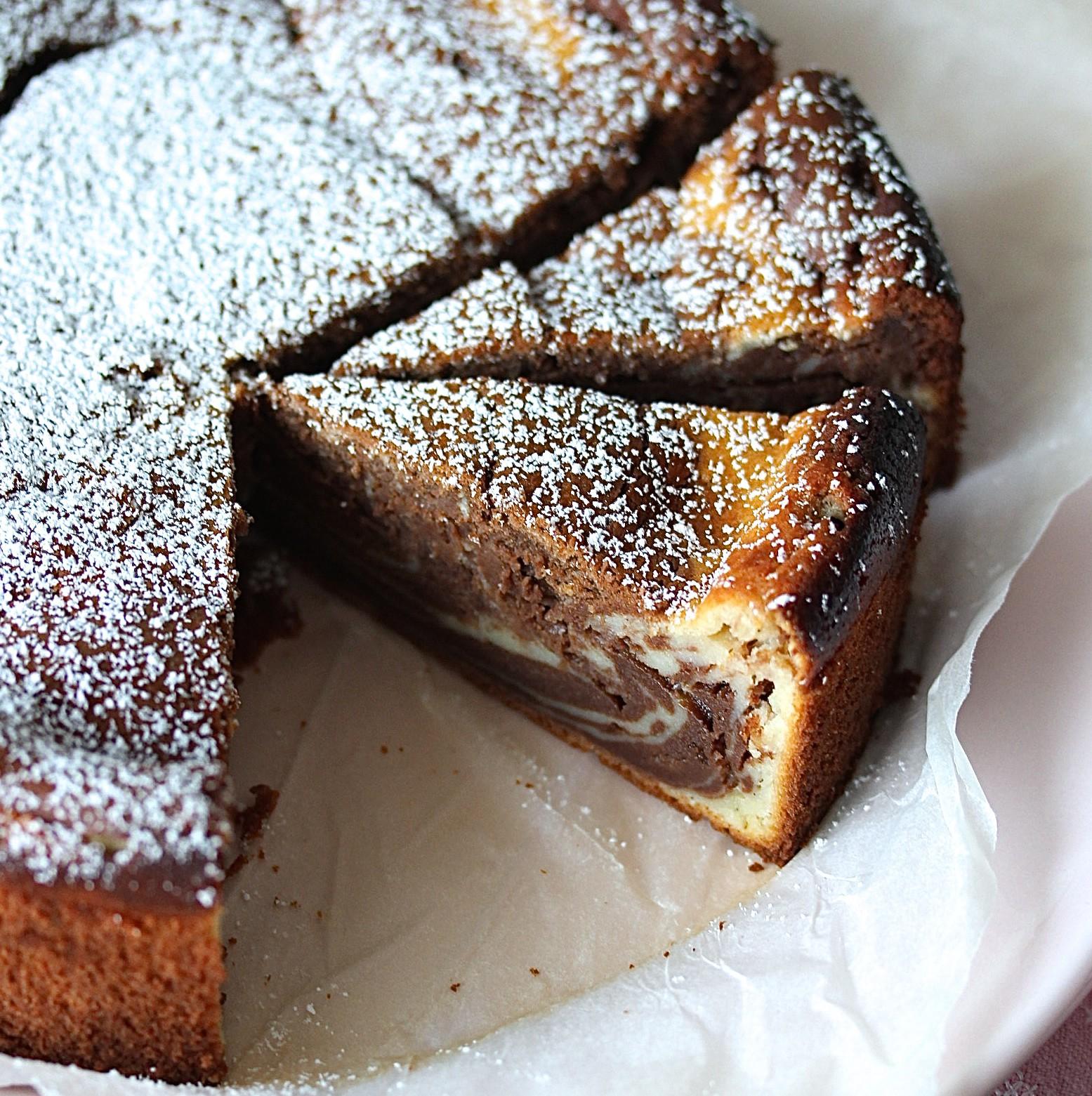 Marmor Käsekuchen Rezept Schokolade Schoko Cheesecake backen ohne Boden einfach lecker Marmorkuchen #marblecheesecake #rezept #backen #käsekuchen #cheesecake #marmorkuchen | Emma´s Lieblingsstücke