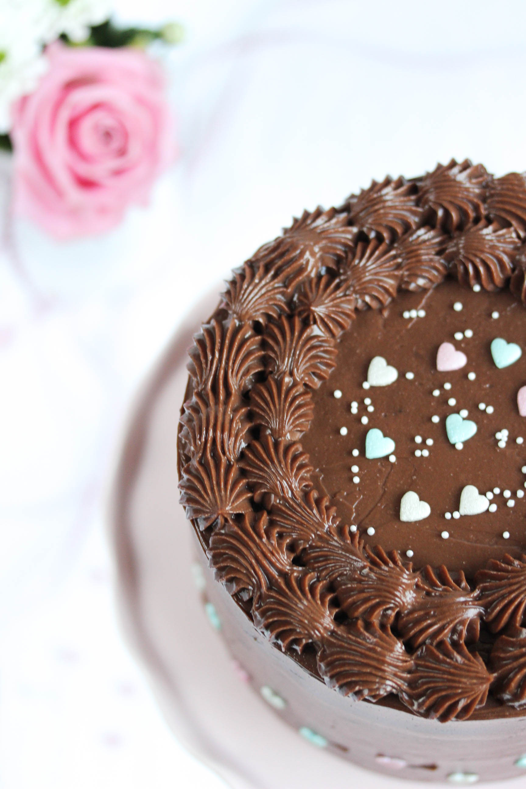 Nutella Birthday Cake