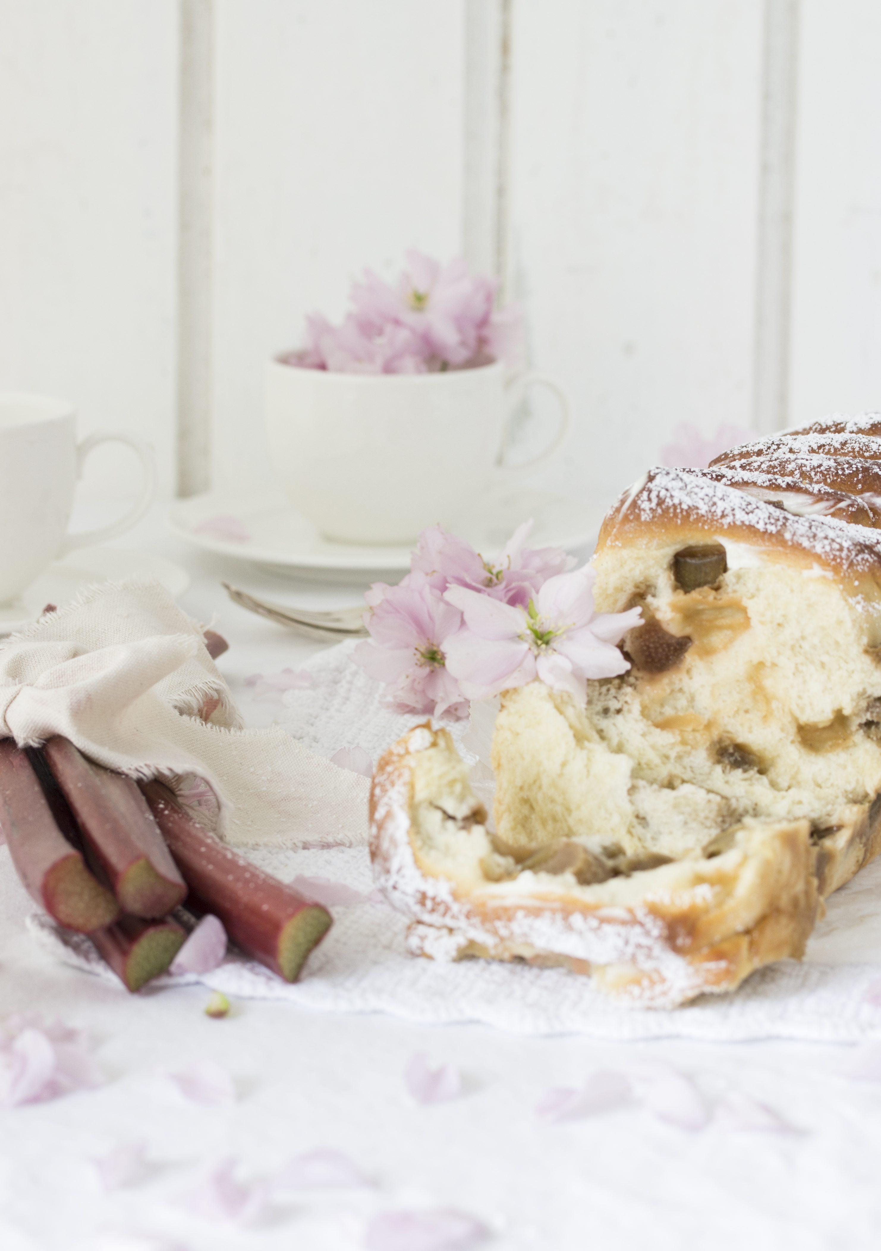Rhabarber Pull Apart Bread-8