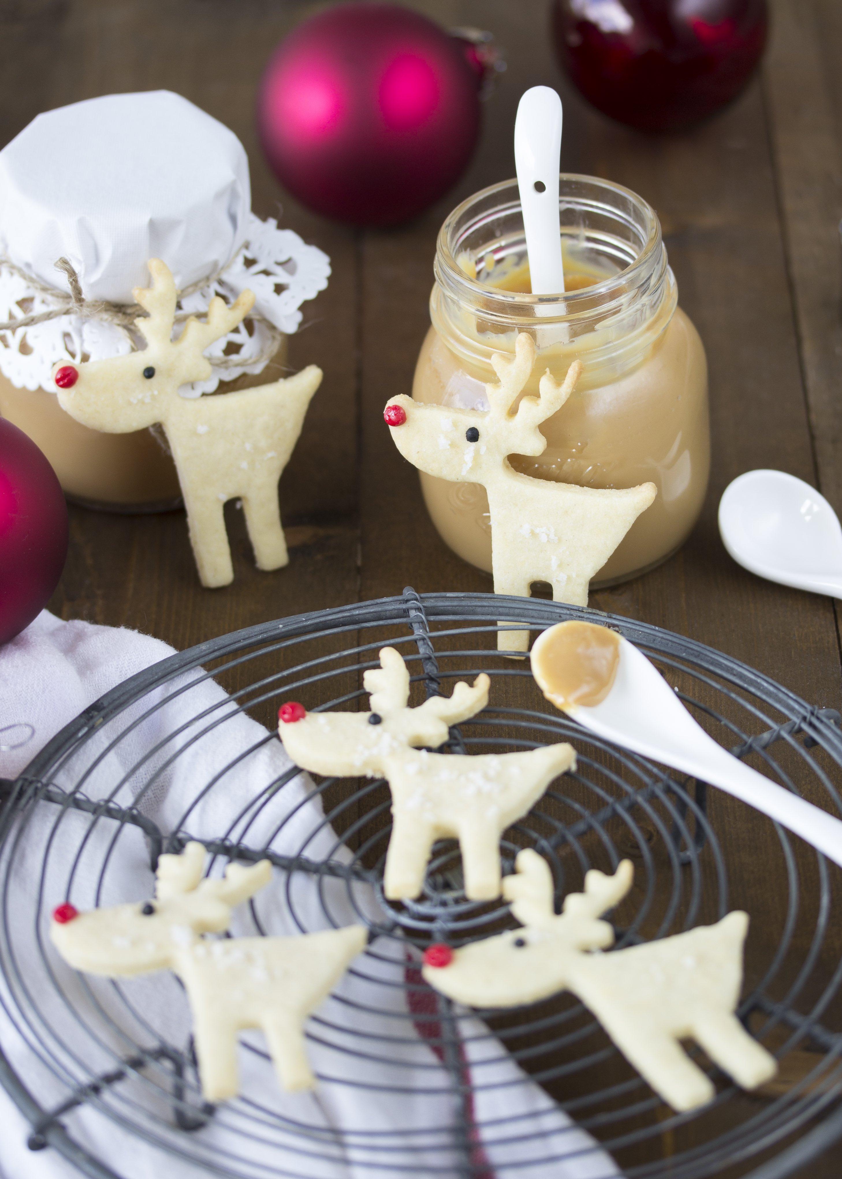 Rezept Plätzchen Kekse Rentiere Elch Weihnachten Backen