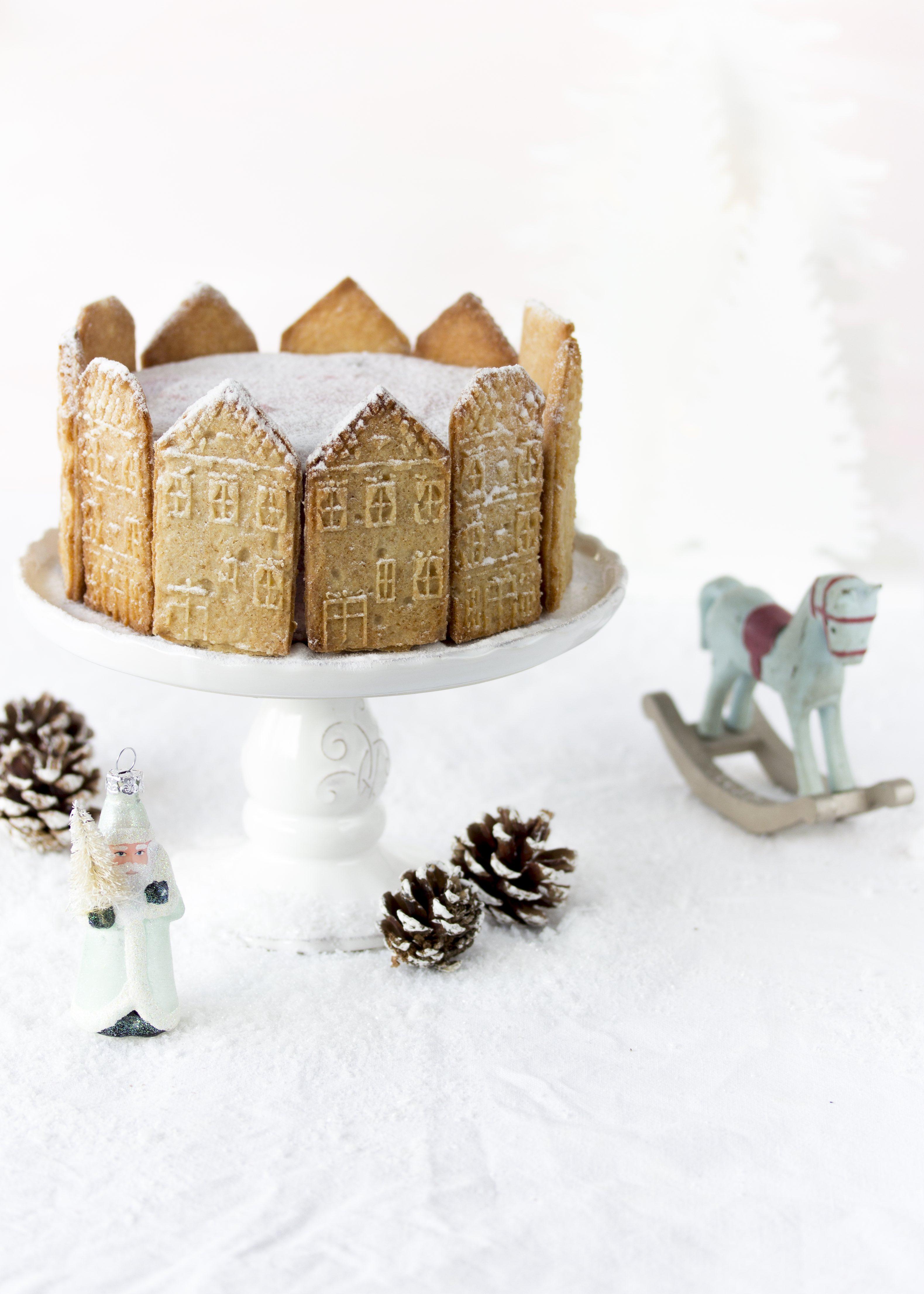 Rezept Spekulatius Kirsch Torte Weihnachten Backen