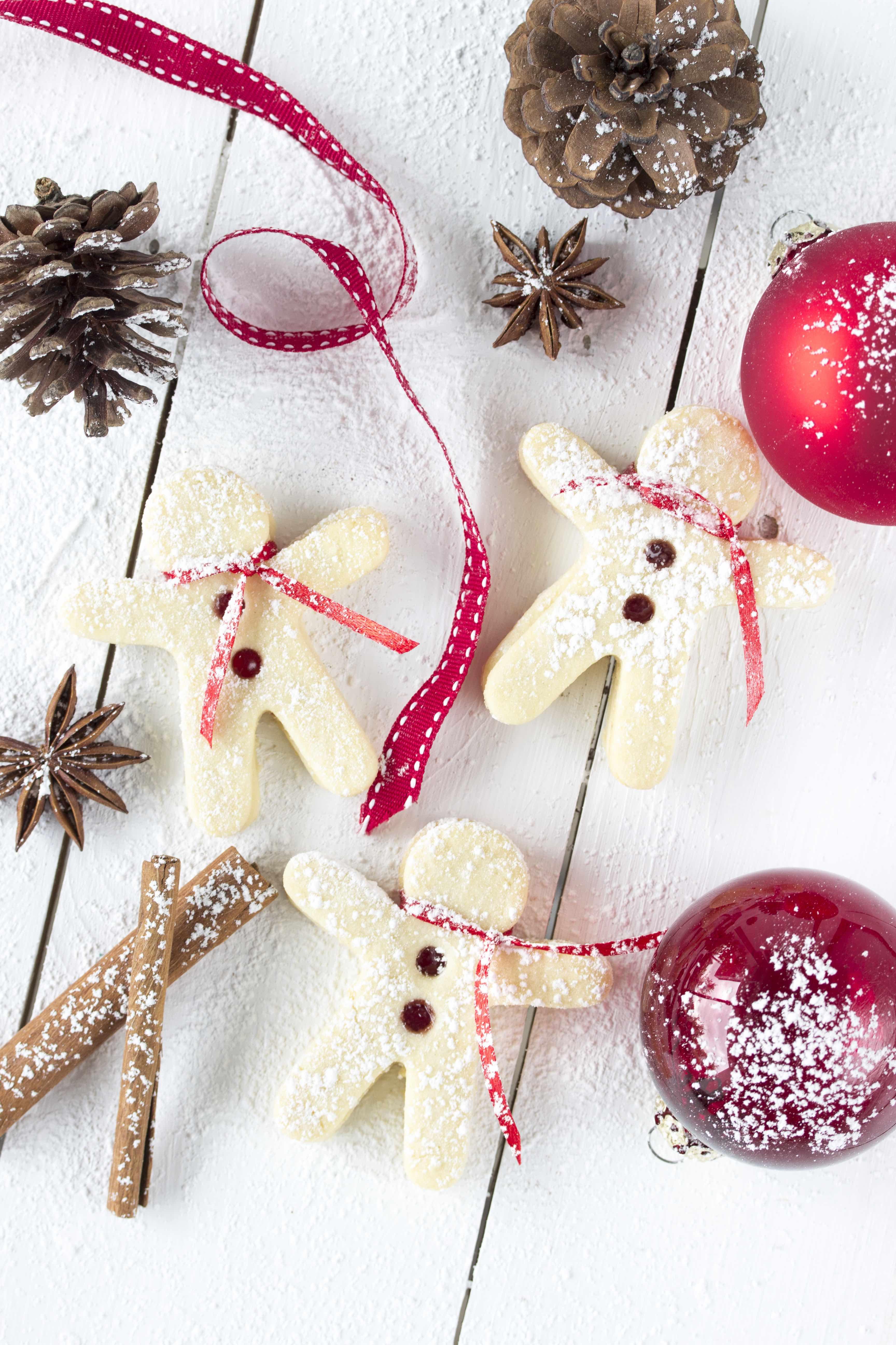 Rezept Spitzbuben Johannisbeergelee Linzer Plätzchen Weihnachten Backen