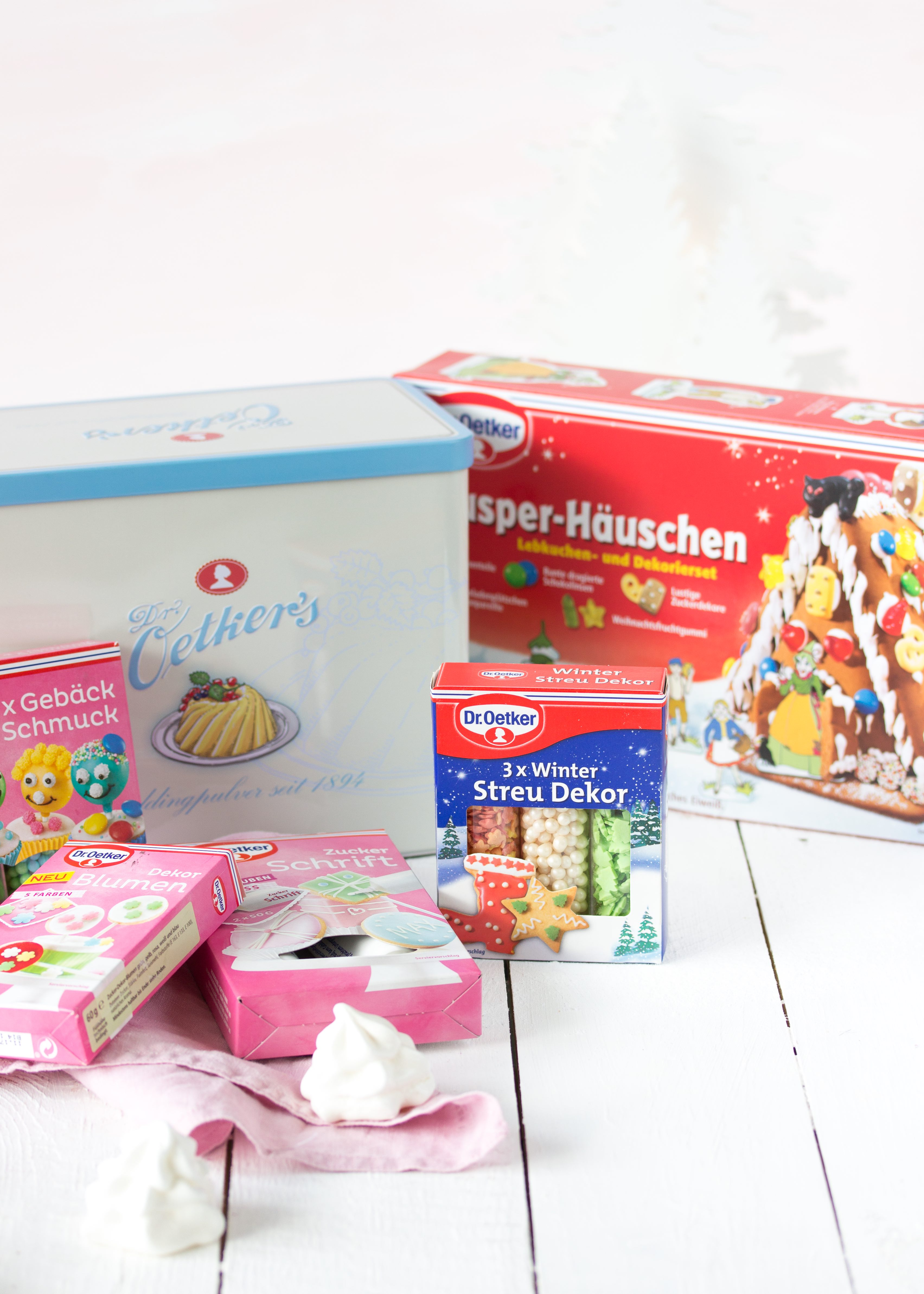 DIY Knusperhäuschen Dekorieren Lebkuchen Gingerbread Weihnachten Christmas