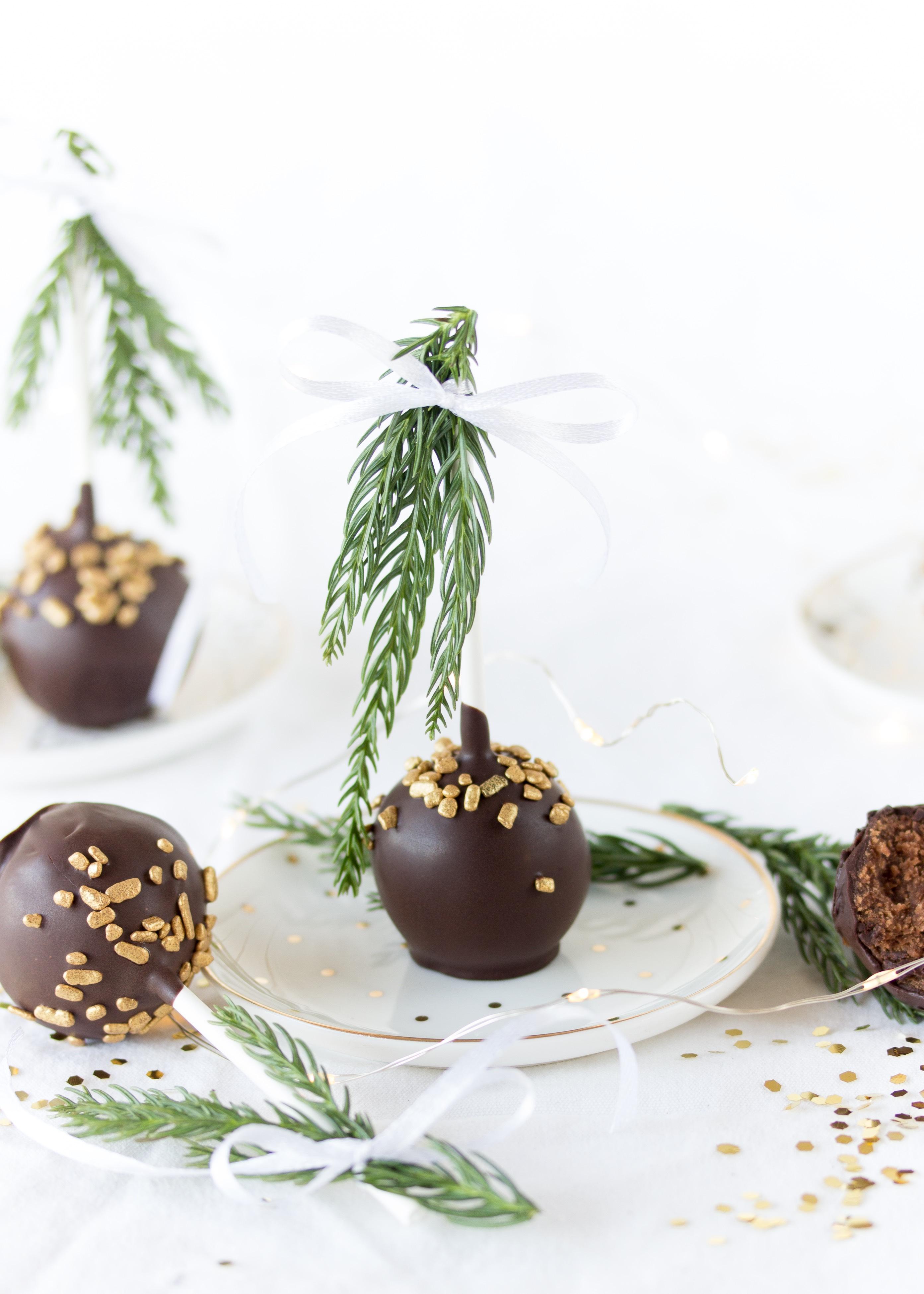 Rezept Sachertorte am Stiel Cake Pops Kuchen Backen Schokolade