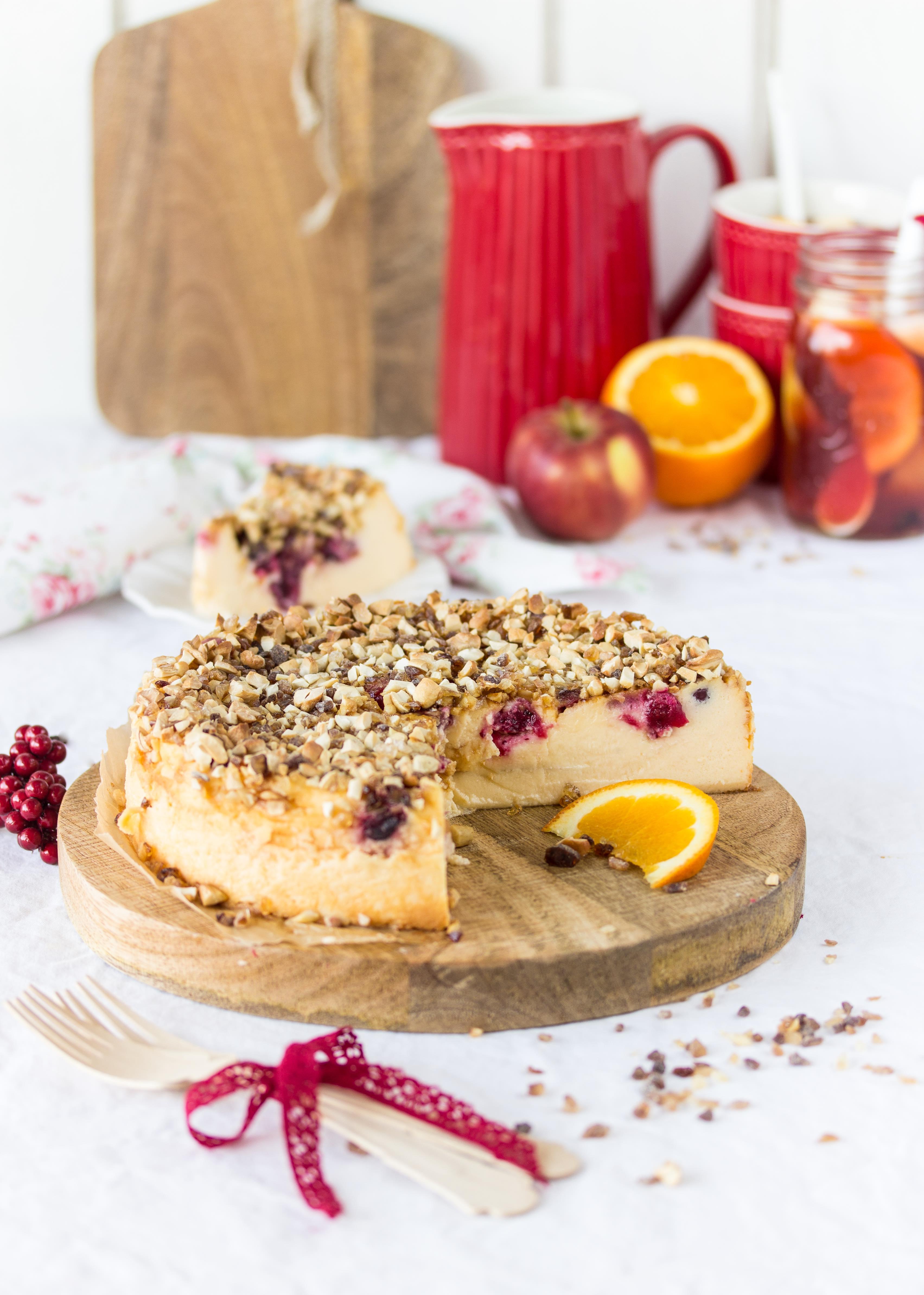 cranberry k sekuchen mit kandis crunch apfel orangen cranberrypunsch emma 39 s lieblingsst cke. Black Bedroom Furniture Sets. Home Design Ideas