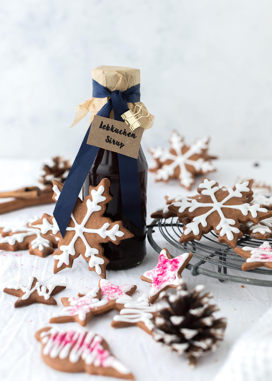 Rezept Lebkuchen Gingerbread Sirup Weihnachten Plätzchen Kekse