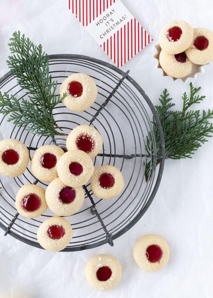 Engelsaugen Rezept mit Marmelade backen Plätzchen Weihnachten Advent Kekse Cookies Christmas #christmas #weihnachten #plätzchen #christmas #cookies Emma´s Lieblingsstücke