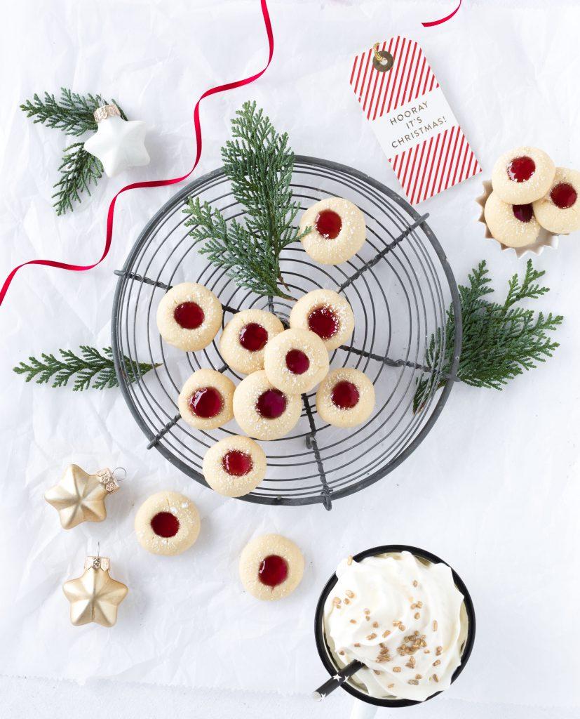 Rezept Lieblingsplätzchen Husarenkrapfen Marmelade Plätzchen Weihnachten Backen Kekse