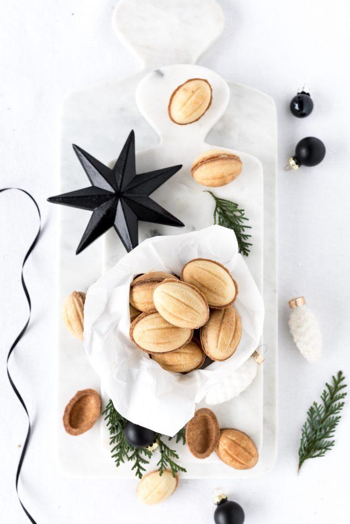 Rezept Oreschki Russische Zaubernüsse Karamell Weihnachten Backen