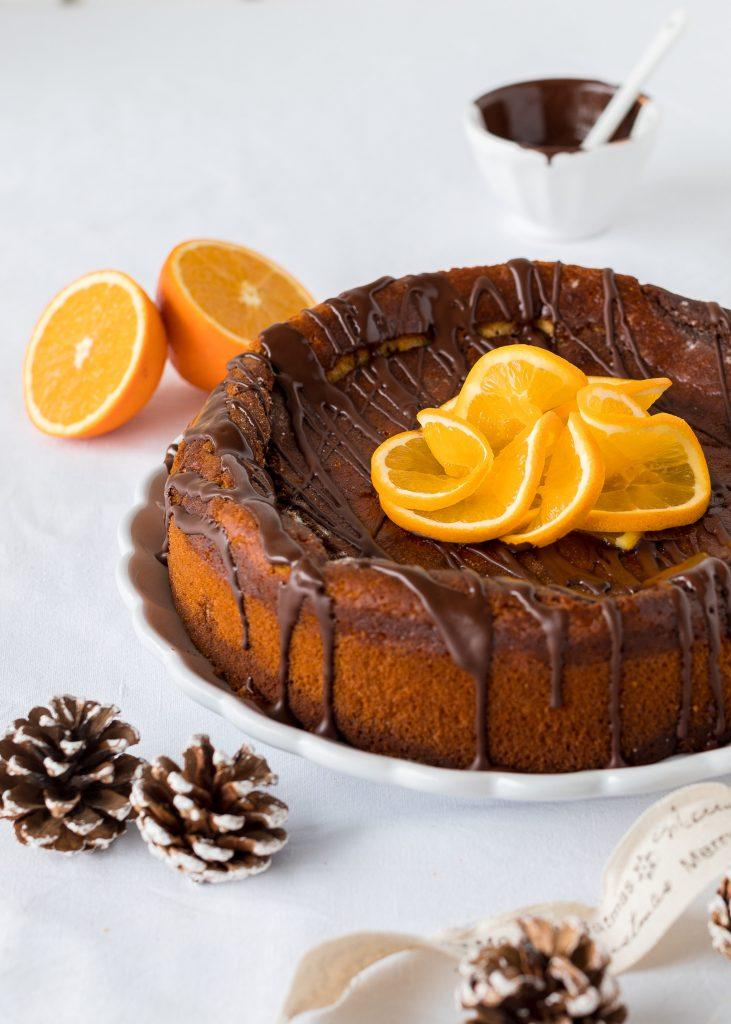 Rezept Käsekuchen Orange Schokolade Schokocheesecake Chessecake Weihnachten