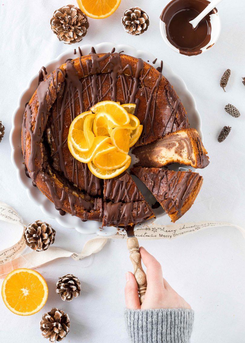 Orangen Schoko Kasekuchen Emma S Lieblingsstucke