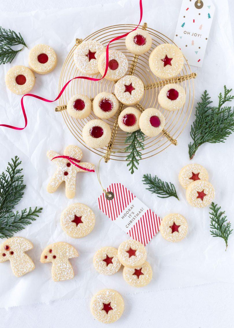 Rezept Lieblingsplätzchen Spitzbuben Engelsaugen Husarenkrapfen Linzer mit Marmelade backen Weihnachten Advent Kekse Cookies Christmas #christmas #weihnachten #plätzchen #christmas #cookies Emma´s Lieblingsstücke
