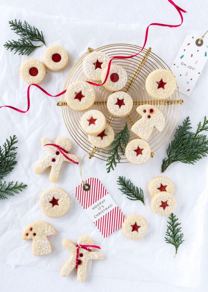Rezept Lieblingsplätzchen Spitzbuben Linzer Plätzchen Weihnachten Backen Kekse
