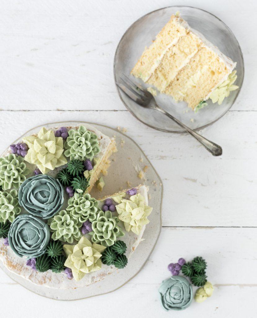 Sukkulenten Torte Rezept Buttercreme backen Motivtorte Backliebe #succulents #torte #cake #motivtorte #backen #cakeart | Emma´s Lieblingsstücke