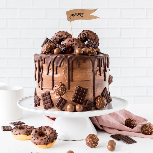 Nutella Drip Cake Emma S Lieblingsstucke