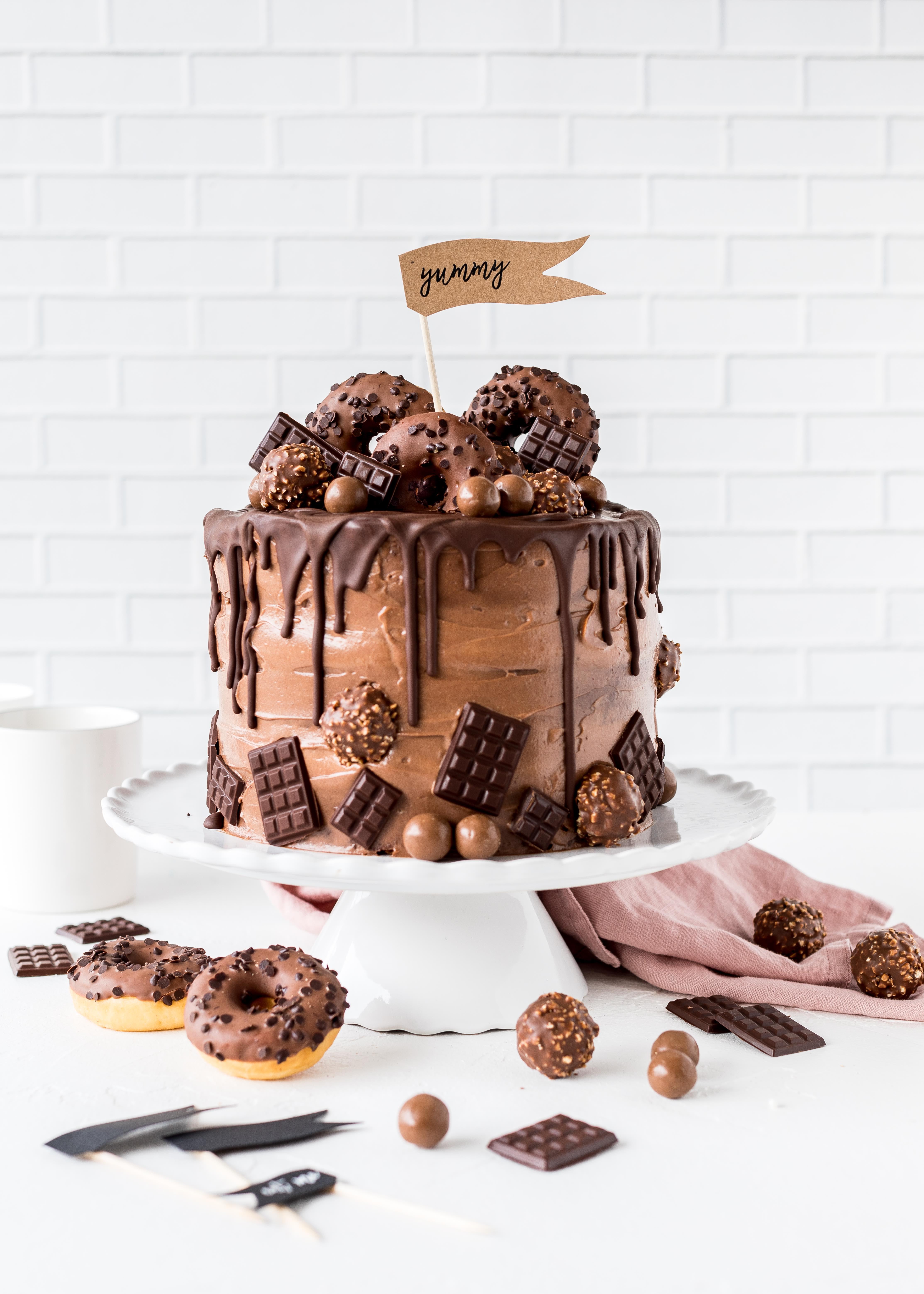 Nutella schoko torte emma 39 s lieblingsst cke - Cake pops 50 geburtstag ...