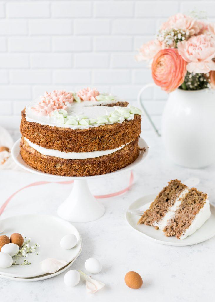Carrot Cake Rezept mit Xylit backen Ostern Torte #ostern #torte #carrotcake #cake | Emma´s Lieblingsstücke