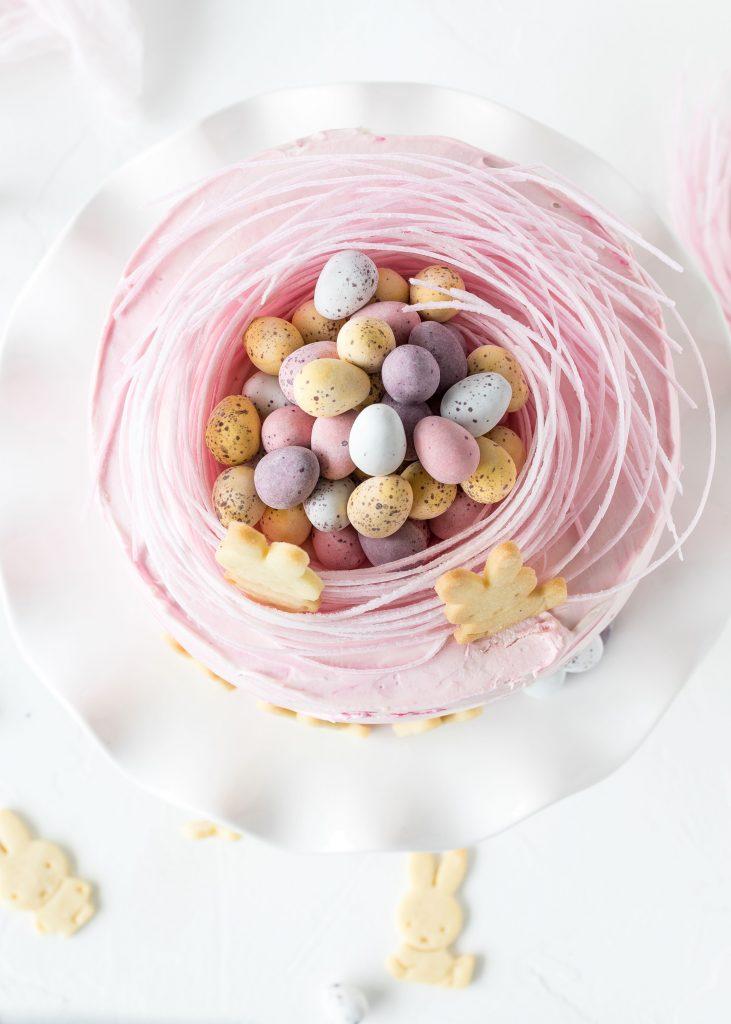 Rezept Ostertörtchen backen Mandarine Quark Hasenkekse Torte Ostern backen #ostern #easter #cake #kinder | Emma´s Lieblingsstücke