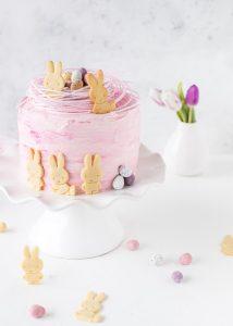 Rezept Ostertörtchen backen Mandarine Quark Hasenkekse Torte Ostern backen #ostern #easter #cake #kinder   Emma´s Lieblingsstücke