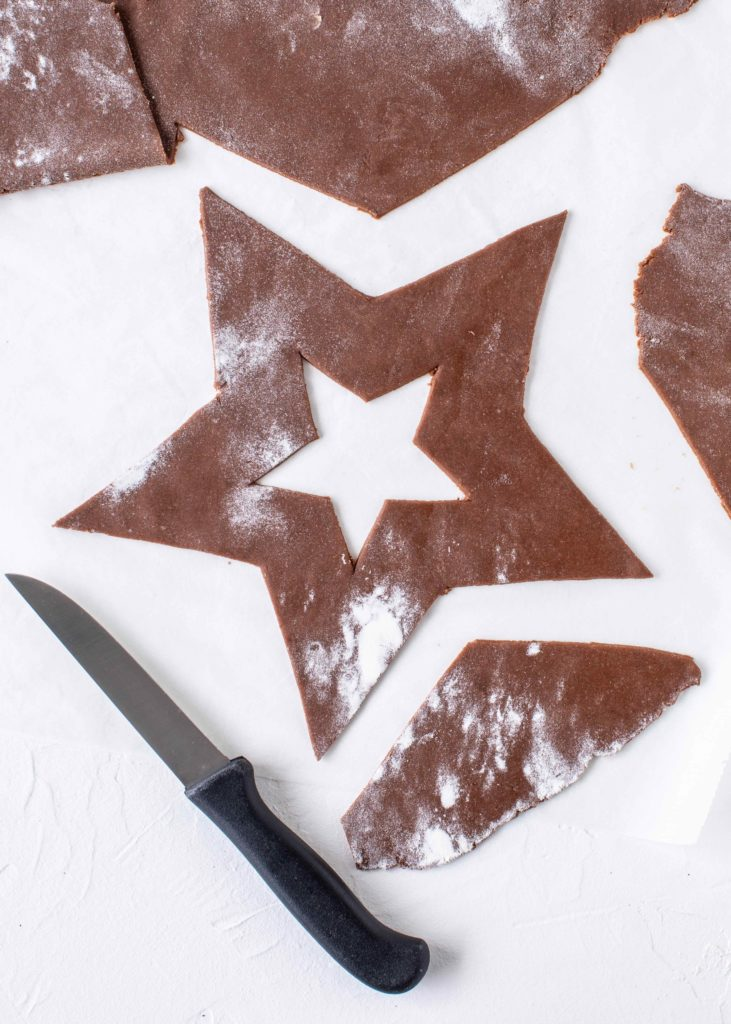 Gingerbread Cream Tart Rezept Lebkuchen Letter Cake Number Cake Weihnachten Backen Trendkuchen 2018 Stern #christmas #cake #gingerbread