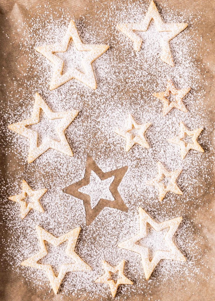Bestes Linzer Plätzchen Rezept Sterne Spitzbuben Marmelade Weihnachten Backen Advent Kekse
