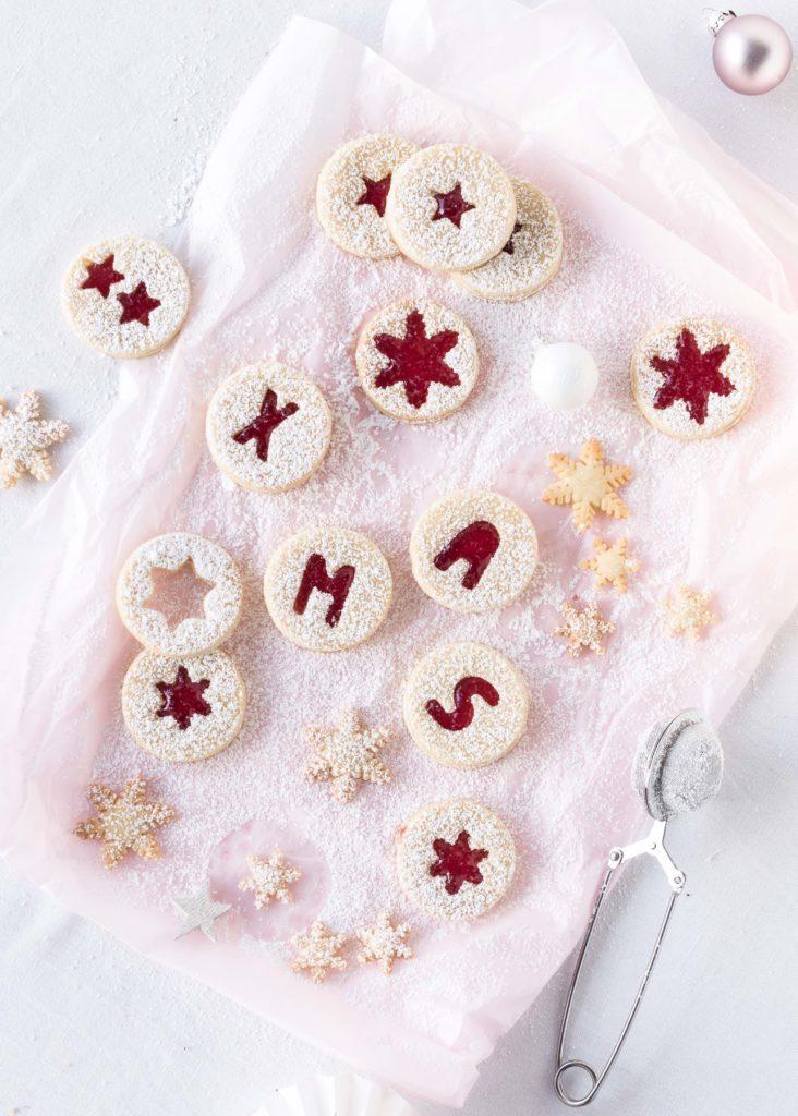 Bestes Linzer Plätzchen Rezept Spitzbuben Marmelade Weihnachten Backen Advent Kekse