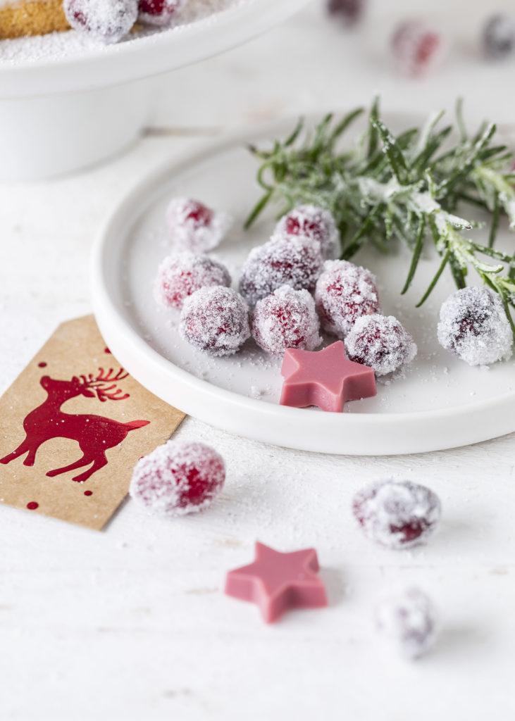 Leckere Cranberry Biskuit Torte Rezept Layer Cake #torte #cranberry #backen #layercake #weihnachten #christmas