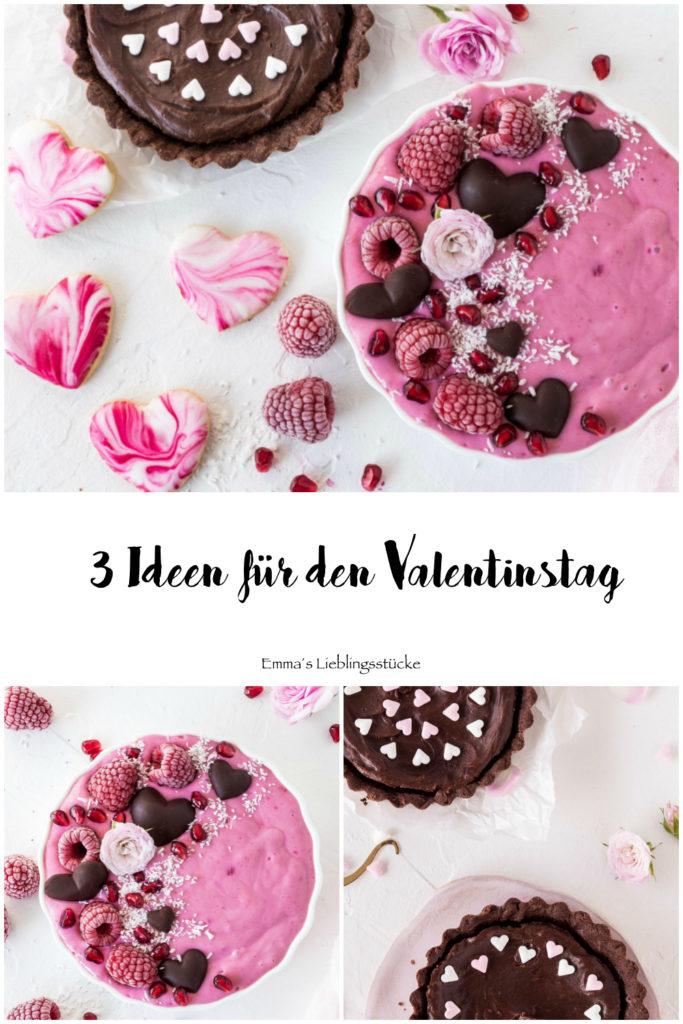 Leckere Rezept Ideen für den Valentinstag #valentinsday #backen #smoothiebowhl #tartelette #herzkekse | Emma´s Lieblingsstücke