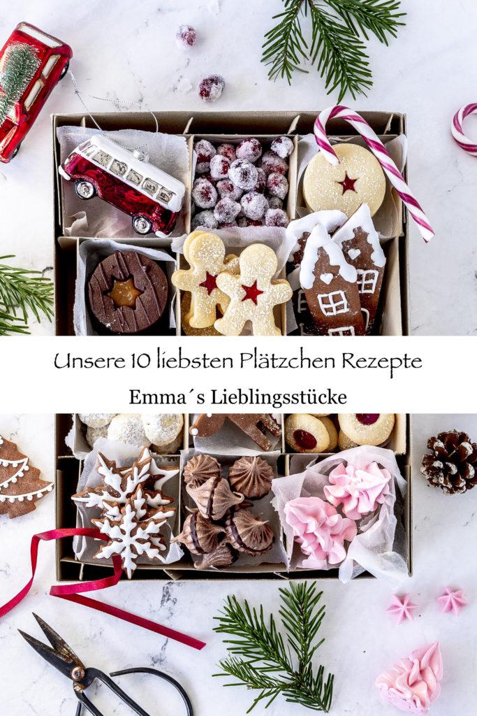Weihnachtsplätzchen Rezepte backen Spitzbuben Kekse Lebkuchen Engelsaugen Husarenkrapfen #christmas #cookies #plätzchen #backen #xmas Emma´s Lieblingsstücke