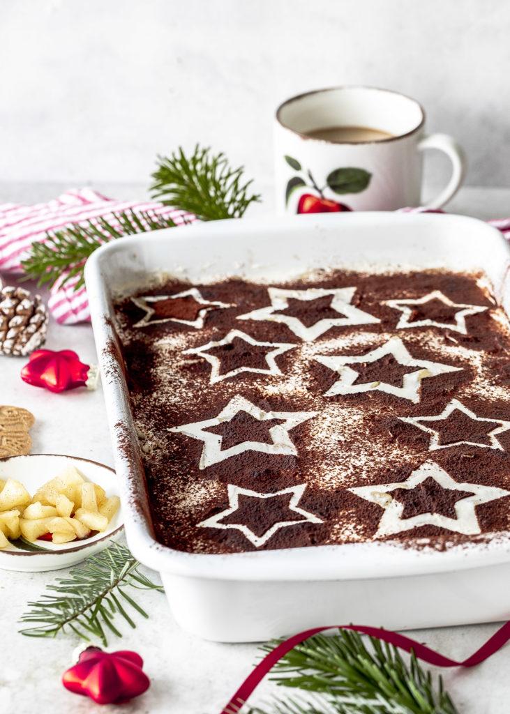 Einfaches Rezept für Bratapfel Spekulatius Tiramisu zu Weihnachten selber machen lecker und einfach #tiramisu #dessert #weihnachten #bratapfel #spekulatius Emma´s Lieblingsstücke
