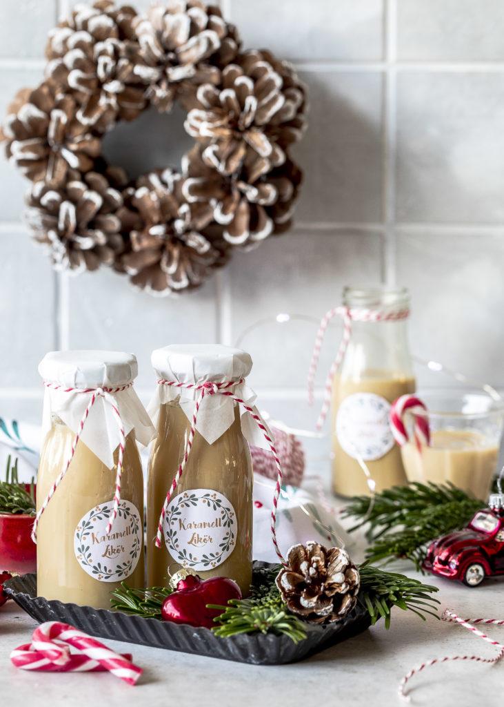 Geschenke aus der Küche mit Karamell zu Weihnachten Mitbringsel Likör Lolli Lutscher Sauce Whisky #karamell #caramel #whisky #likör #Christmas Emma´s Lieblingsstücke